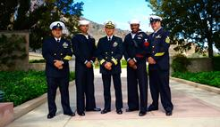 Point Mugu Fleet Readiness Center US Navy Honor Guard for Lt. Susan Ahn Cuddy July 2, 2015 Forest Lawn Hall of Liberty